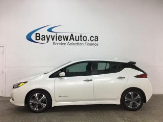 Used 2019 Nissan Leaf SV - NAV! HTD SEATS! REVERSE CAM! ALLOYS! + MUCH MORE! for sale in Belleville, ON