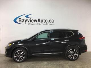 Used 2018 Nissan Rogue SL - AWD! PANOROOF! HTD LTHR! NAV! ADAPTIVE CRUISE! + MUCH MORE! for sale in Belleville, ON