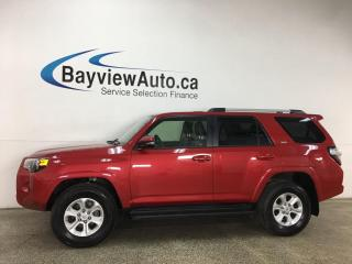 Used 2019 Toyota 4Runner SR5 - 4X4! HTD LEATHER! NAV! SUNROOF! for sale in Belleville, ON