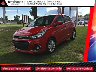 Used 2018 Chevrolet Spark 1LT AUTOMATIQUE APPLE CAR PLAY/ANDROID AUTO for sale in Terrebonne, QC