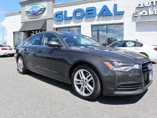 Used 2014 Audi A6 Technik 2.0T Technik for sale in Ottawa, ON