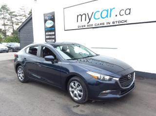 Used 2017 Mazda MAZDA3 GX POWERGROUP, A/C!! for sale in Kingston, ON