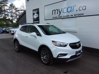 Used 2020 Buick Encore Sport Touring SUNROOF, HEATED SEATS, ALLOYS, MYCAR POWERBUY!! for sale in Kingston, ON