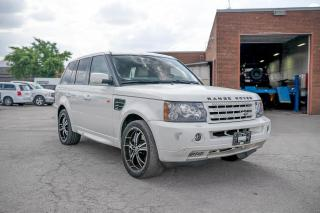 Used 2007 Land Rover Range Rover SPORT SUPERCHARGED for sale in Concord, ON