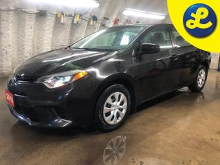Used 2016 Toyota Corolla Steering Wheel Controls * Cruise Control * Heated Mirrors * Child Locks * Power Mirrors/Windows/Locks * Climate control * Traction control * for sale in Cambridge, ON
