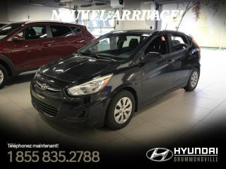 Used 2015 Hyundai Accent GL + GARANTIE + A/C + CRUISE + BLUETOOTH for sale in Drummondville, QC