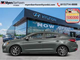 New 2020 Hyundai Elantra Ultimate  - Navigation -  Leather Seats - $179 B/W for sale in Nepean, ON