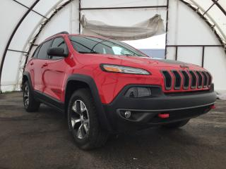 Used 2017 Jeep Cherokee Trailhawk COLD WEATHER GROUP, POWER LIFTGATE, TRAILER TOW GROUP, PUSH START IGNITION for sale in Ottawa, ON