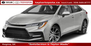 New 2020 Toyota Corolla SE for sale in Regina, SK
