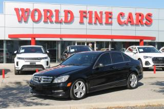 Used 2011 Mercedes-Benz C-Class | Ontario Local | Nav | AWD for sale in Etobicoke, ON