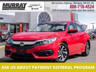Used 2018 Honda Civic Sedan EX *Local trade   Super low kms   Honda Sensing* for sale in Winnipeg, MB