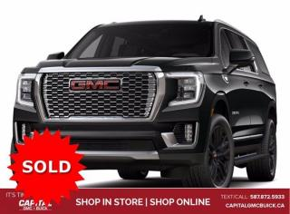 New 2021 GMC Yukon XL Denali 4WD for sale in Edmonton, AB