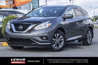 Used 2017 Nissan Murano **SV AWD** **AWD**GPS**CAMERA DE RECULE**SIEGES CHAUFFANT**TOIT** for sale in Montréal, QC