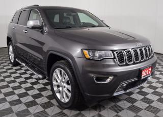 Used 2017 Jeep Grand Cherokee Limited 4X4, 8.4-INCH TOUCHSCREEN, POWER MEMORY DRIVER SEAT for sale in Huntsville, ON