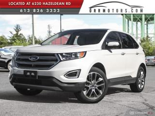 Used 2018 Ford Edge Titanium AWD | NAV | PANO ROOF | SYNC 3 | HEATED  LEATHER for sale in Stittsville, ON