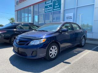 Used 2011 Toyota Corolla CE-ONE OWNER BOUGHT AND SERVICED HERE! for sale in Cobourg, ON