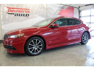 Used 2017 Acura TLX TECH ENSEMBLE AERO V6 SH-AWD for sale in Lévis, QC