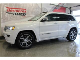 Used 2019 Jeep Grand Cherokee OVERLAND 4X4 for sale in Lévis, QC