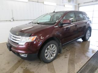 Used 2009 Ford Edge Limited Remote Start, Heated Leather Seats, Satellite Radio for sale in Killarney, MB