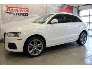 Used 2017 Audi Q3 Progressiv Quattro for sale in Lévis, QC