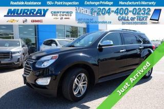 Used 2016 Chevrolet Equinox *Heated Leather Seats* Remote Start* Sunroof* Back for sale in Brandon, MB