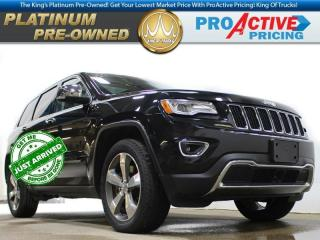 Used 2015 Jeep Grand Cherokee Limited | 5.7L Hemi | Luxury Pkg | DVD | Nav | Ada for sale in Virden, MB