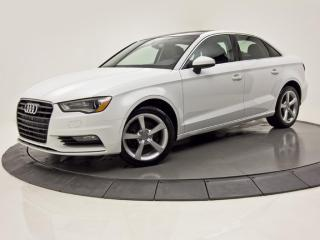 Used 2016 Audi A3 quattro 2.0T CUIR TOIT MAGS PUSH START for sale in Brossard, QC