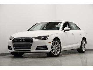 Used 2017 Audi A4 Auto Progressiv quattro GPS TOIT for sale in Brossard, QC