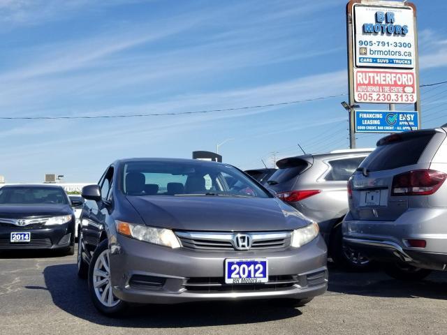 2012 Honda Civic EX |SUNROOF |ALLOYS |AIR CONDITION