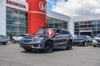Used 2017 Acura RDX GARANTIE LALLIER MOTO-PROPULSEUR 10ANS/200,000 KIL ELITE PACKAGE V6 for sale in Terrebonne, QC