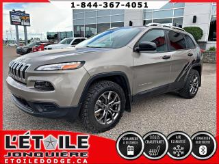 Used 2017 Jeep Cherokee 4x4 Sport Dem à distance for sale in Jonquière, QC