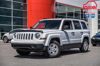 Used 2016 Jeep Patriot Sport/MODELE DE BASE 02477C BLANC for sale in Terrebonne, QC