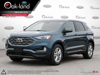 Used 2019 Ford Edge SEL VOICE ACTIVATED NAVIGATION | MOONROOF | ADAPTIVE CRUISE | COLD WEATHER PACKAGE for sale in Oakville, ON