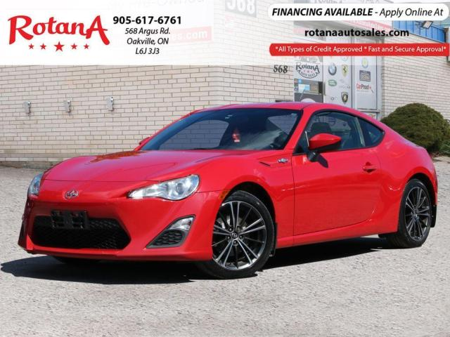 2013 Scion FR-S Manual_Accident Free_One Owner_Low KMs