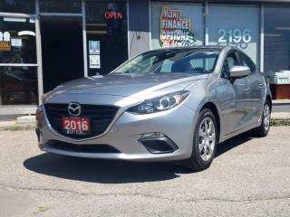 Used 2016 Mazda MAZDA3 4dr Sdn Man GX for sale in Bowmanville, ON