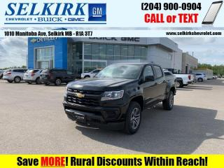 New 2021 Chevrolet Colorado WT for sale in Selkirk, MB