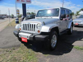 Used 2011 Jeep Wrangler Sahara for sale in Hamilton, ON