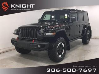 New 2020 Jeep Wrangler Unlimited Rubicon | Leather | Navigation | for sale in Regina, SK