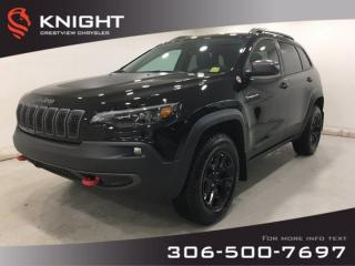 New 2020 Jeep Cherokee Trailhawk Elite 4x4 | Leather | Navigation | Sunroof | for sale in Regina, SK