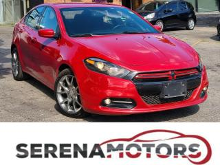 Used 2013 Dodge Dart RALLYE | MANUAL | AS IS for sale in Mississauga, ON
