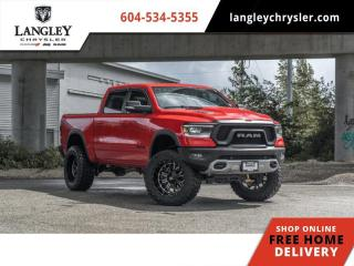 Used 2019 RAM 1500 Rebel  Lifted / Fuel Rims / Borla Atak Exhaust for sale in Surrey, BC