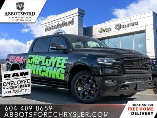 New 2020 RAM 1500 Limited  - Sunroof for sale in Abbotsford, BC