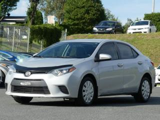 Used 2015 Toyota Corolla LE JAMAIS ACCIDENTE! for sale in St-Georges, QC