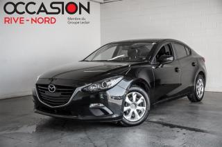 Used 2016 Mazda MAZDA3 GX BLUETOOTH+A/C for sale in Boisbriand, QC
