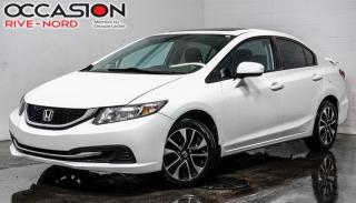Used 2014 Honda Civic EX MAGS+TOIT.OUVRANT+CAM.RECUL for sale in Boisbriand, QC
