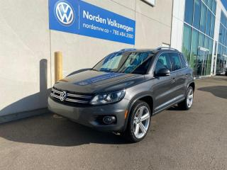 Used 2015 Volkswagen Tiguan HIGHLINE R-LINE - LEATHER / SUNROOF / CERTIFIED for sale in Edmonton, AB
