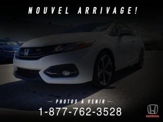 Used 2015 Honda Civic SI + COUPE + MANUEL + TOIT + WOW! for sale in St-Basile-le-Grand, QC