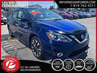 Used 2016 Nissan Sentra SR for sale in Rouyn-Noranda, QC