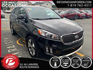 Used 2016 Kia Sorento 2.0L Turbo SX limited for sale in Rouyn-Noranda, QC