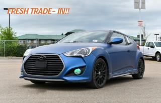 Used 2016 Hyundai Veloster RALLY EDITION FWD | 6-SPEED MANUAL for sale in Red Deer, AB